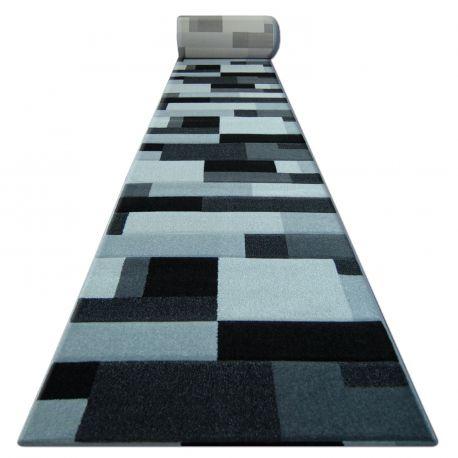 Chodnik HEAT-SET FRYZ PILLY - 8403 czarno srebrny
