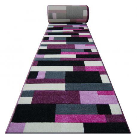 Chodnik HEAT-SET FRYZ PILLY - 8403 czarno fioletowy