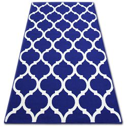 Dywan MULTI DECOR 1728 niebieski koniczyna marokańska trellis