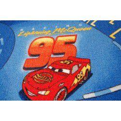 Wykładzina dywanowa DISNEY CARS niebieski