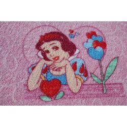 Wykładzina dywanowa DISNEY KSIĘŻNICZKI róż