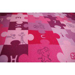 Wykładzina dywanowa PUZZLE fiolet