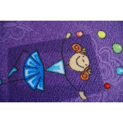Dywan dziecięcy HAPPY fiolet