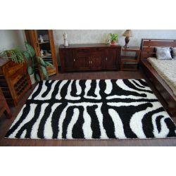 DYWAN SHAGGY ZENA 3964 biały / czarny