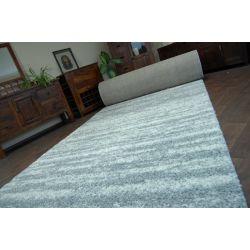 Wykładzina SHAGGY LONG 5cm wzór 3383 szaro biały