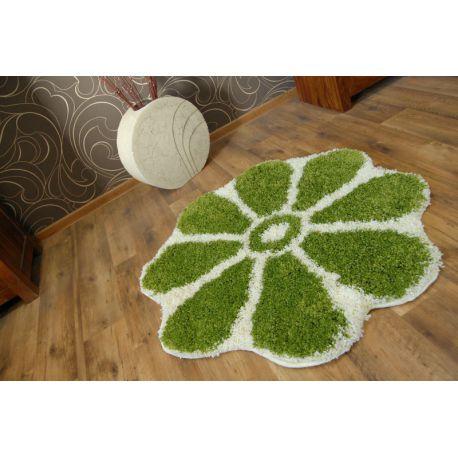Dywan SHAGGY GUSTO Kwiatek C300 zieleń