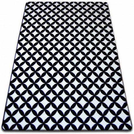 Dywan SKETCH - F757 biało/czarny