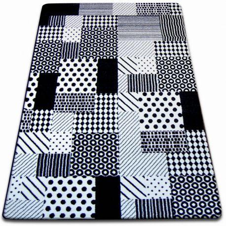 Dywan SKETCH - F760 biało/czarny