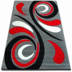Dywan FOCUS -  8695 szaro czerwony