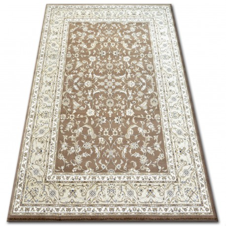 Dywan KLASIK 4174 brown/l.beige