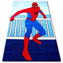 Dywan dziecięcy HAPPY C098 niebieski Spiderman