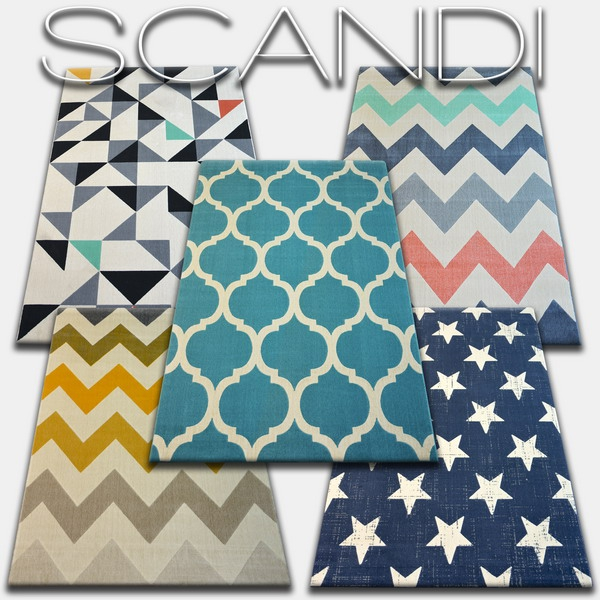 Dywany kolekcji Scandi