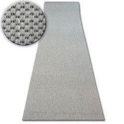 CHODNIK SIZAL FLOORLUX wzór 20433 srebrny GŁADKI