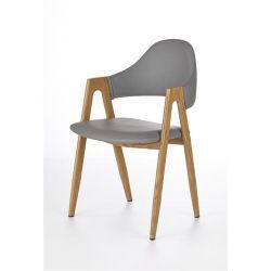 Krzesło K247 popiel / dąb miodowy