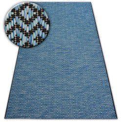 Dywan LOFT 21144 czarny/srebrny/niebieski