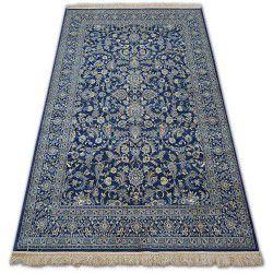 Dywan WINDSOR 22935 ciemnoniebieski - Kwiaty