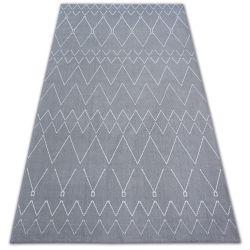 Dywan SENSE 81249 srebrny/biały