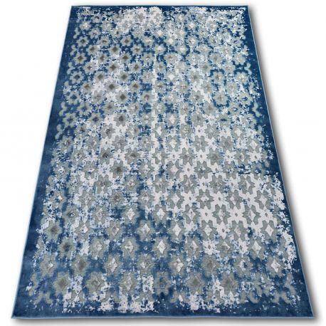 Dywan AKRYL YAZZ 7006 Niebieski/Kość słoniowa