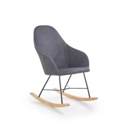 Fotel bujany LAGOS popiel
