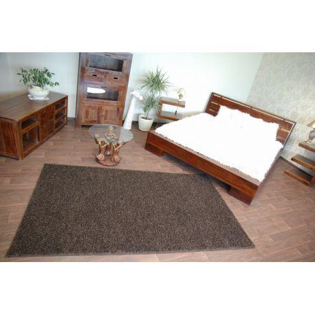 Wykładzina dywanowa SHAGGY MISTRAL 95 ciemny brąz