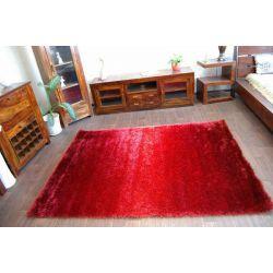 Dywan SHAGGY RAINBOW czerwony