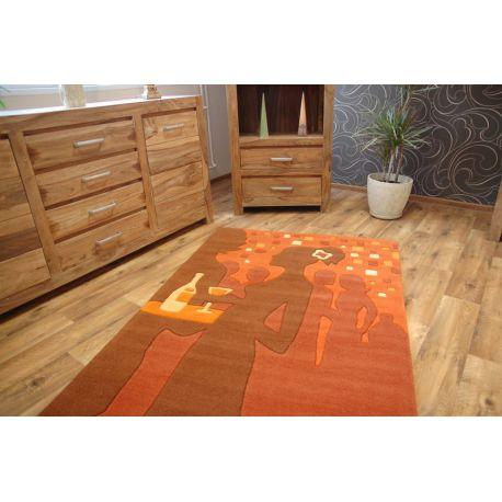 Dywan Akryl TERRY pomarańcz