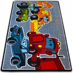 Dywan KIDS Cars szary C418
