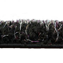 Wykładzina SHAGGY NARIN black cream+violet