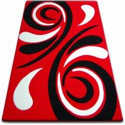 Dywan FOCUS -  8695 czerwony FALA