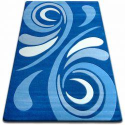 Dywan FOCUS - 8695 niebieski FALA