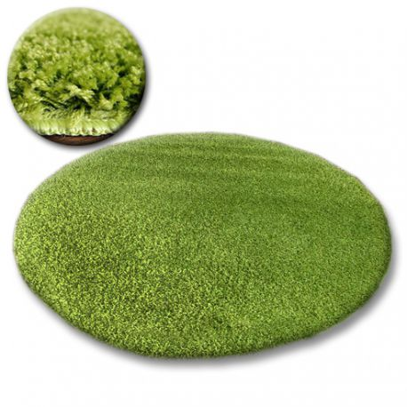 Dywan koło SHAGGY GALAXY 9000 zielony