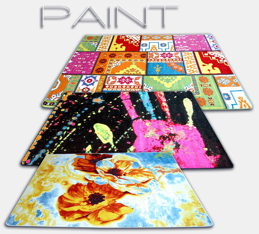 Dywany kolekcji Paint